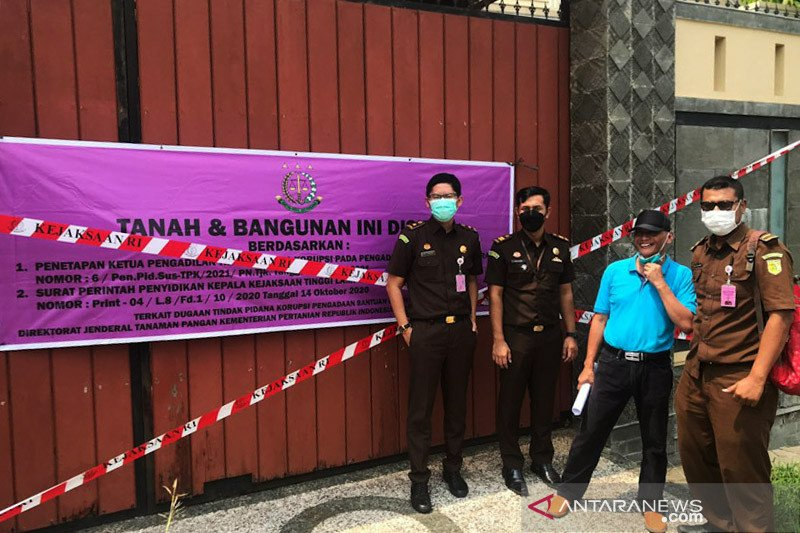 Kejati Lampung sita rumah dan gedung terkait korupsi benih jagung
