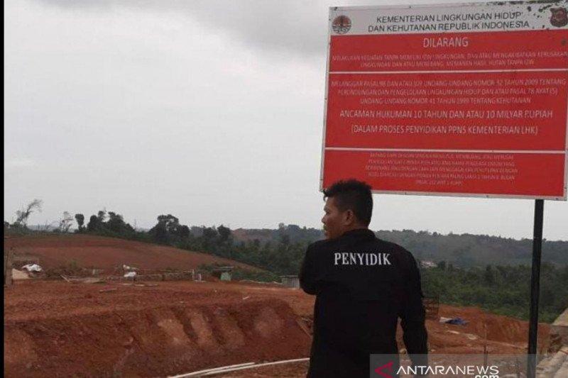 KLHK tangkap perusak hutan lindung di Batam