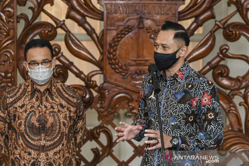 Ketua Umum Partai Demokrat temui Gubernur DKI Jakarta