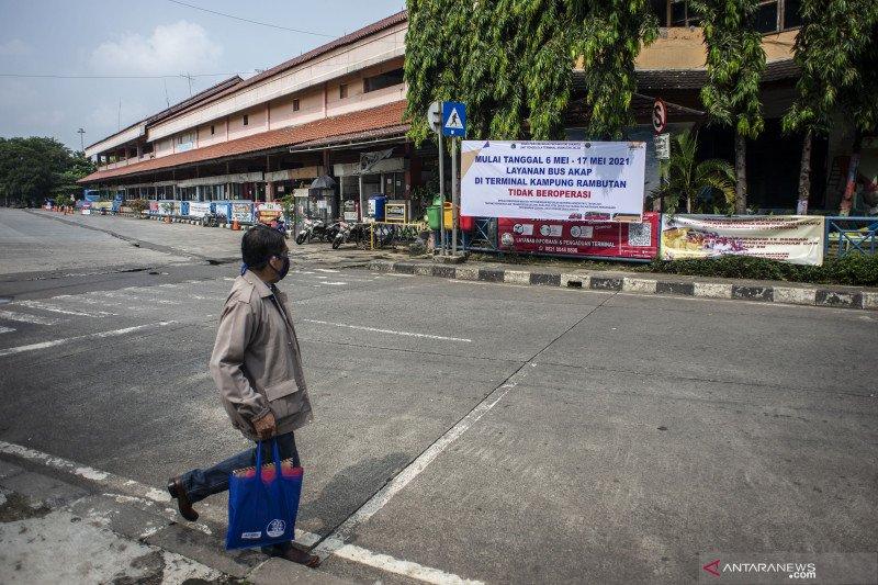 Terminal Kampung Rambutan hentikan operasional Bus AKAP