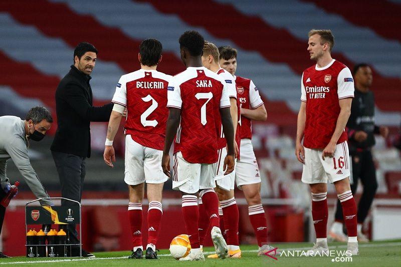 Arteta kecewa berat atas dua leg penampilan Arsenal lawan Villarreal