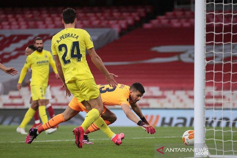 Villarreal lewati Arsenal ke final Liga Europa seusai jaga agregat 2-1