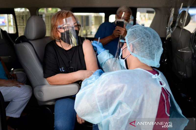 Filipina mencatat dua kasus pertama virus corona varian India