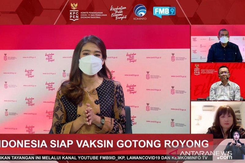 Vaksinasi Gotong Royong ditargetkan bergulir 17 Mei 2021