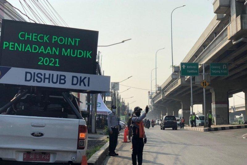 Polres Metro Jakarta Timur tak lakukan penyekatan pemudik