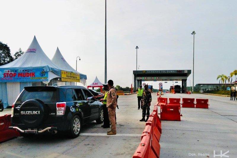 Hutama Karya dukung larangan mudik dengan perketat ruas tol