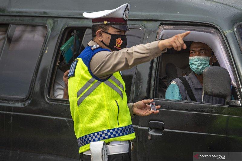 Polda Lampung telah periksa 29.801 kendaraan selama mudik lebaran
