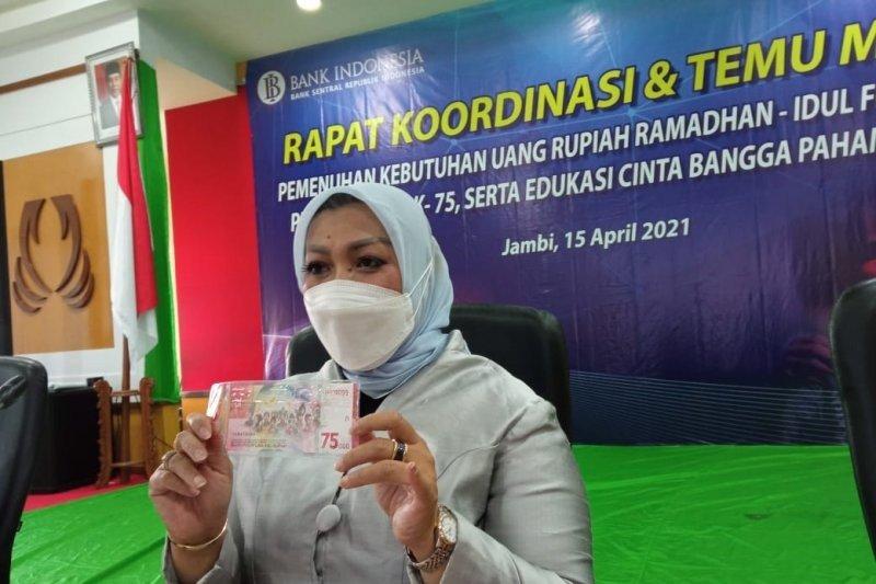 BI: Uang pecahan Rp75.000 untuk transaksi bukan cuma sekedar souvenir