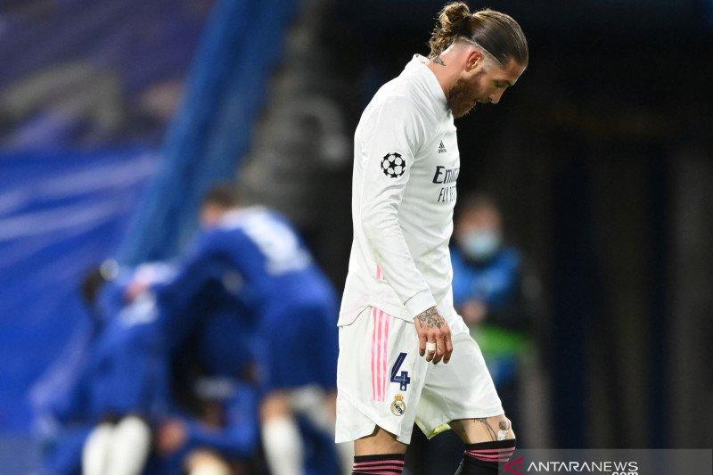 Timnas Spanyol tidak bawa Sergio Ramos ke Euro 2020
