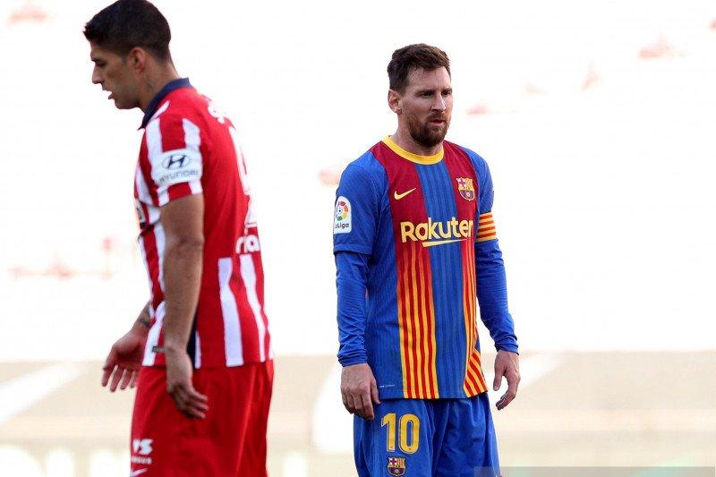 Atletico Madrid dan Barcelona berbagi satu poin