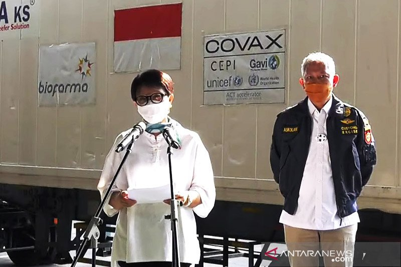 Indonesia terima batch ketiga vaksin AstraZeneca dari fasilitas COVAX