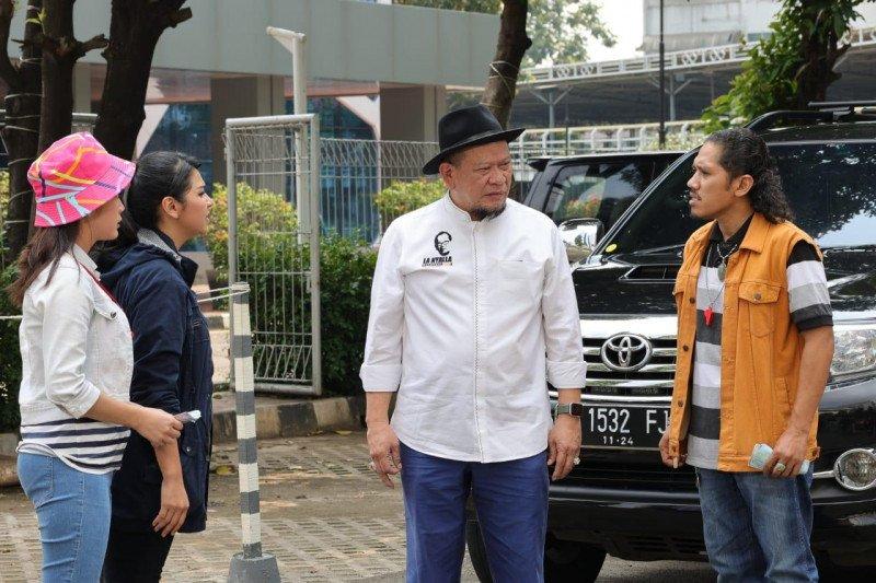 Jadi cameo, Ketua DPD RI siap dukung industri perfilman Indonesia