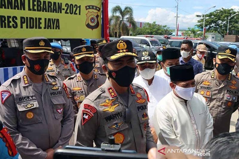 Kapolda Aceh ingatkan warga patuhi kebijakan larangan mudik