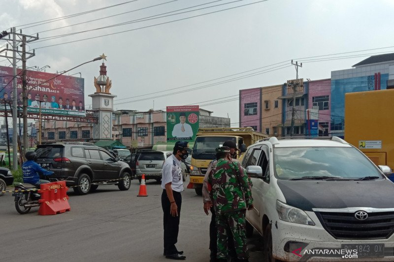 1.500 kendaraan gagal masuk ke Palembang