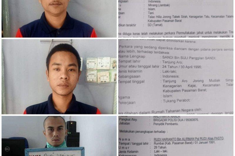 Tiga orang narapidana Lapas Talu Pasaman Barat melarikan diri