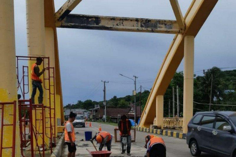 PUPR: Pemeliharaan Jembatan Sungai Bojo tingkatkan konektivitas Sulsel