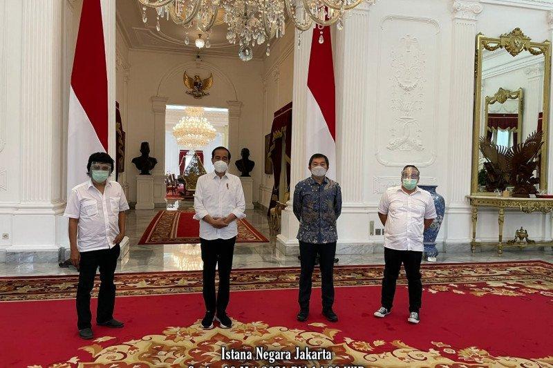 Adian Napitupulu temui Presiden Jokowi di Istana Negara