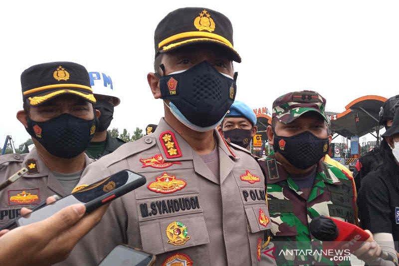 Polresta Cirebon memutar balik 6.000 sepeda motor pemudik