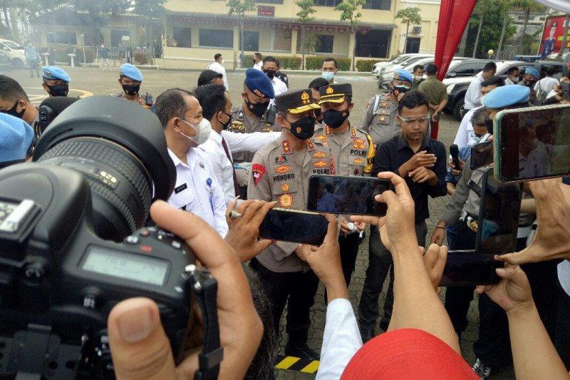 Polda Lampung musnahkan barang bukti kasus narkoba