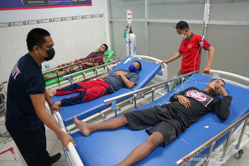 Ratusan warga binaan Lapas Gorontalo diduga keracunan makanan