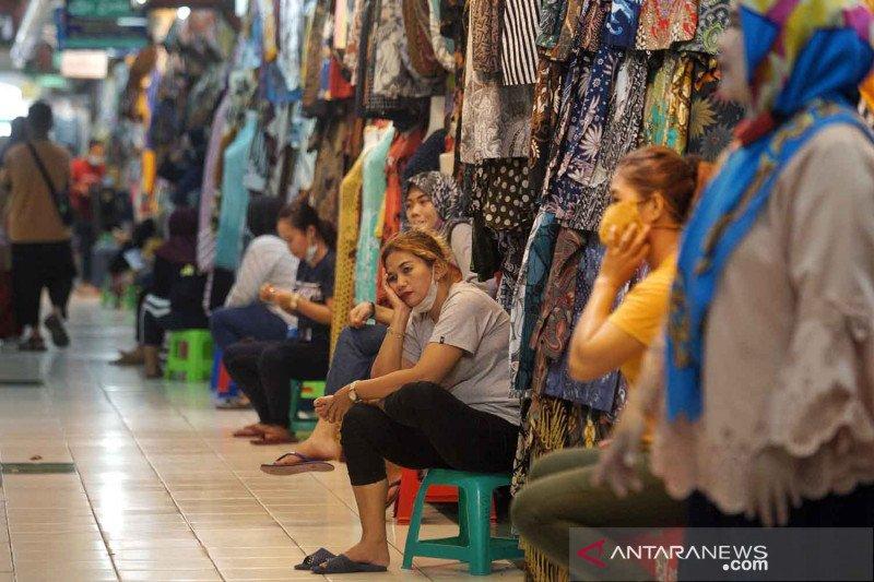 Pasar Beringharjo terdampak larangan mudik