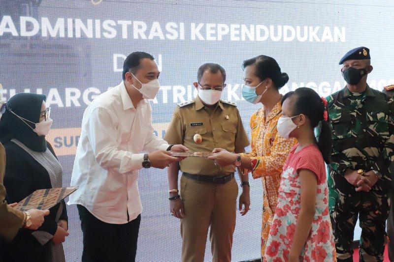 16 keluarga awak KRI Nanggala 402 di Surabaya dapat tali asih