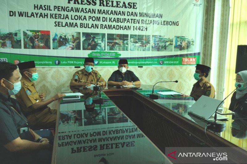 BPOM temukan peredaran ribuan produk pangan bermasalah di Bengkulu
