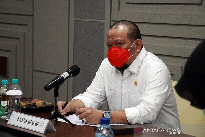 Ketua DPD: Pandemi membuka berbagai persoalan fundamental bangsa