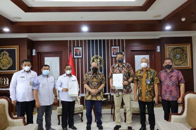 Permudah tugas senator, DPD RI-Garuda tanda tangani MoU