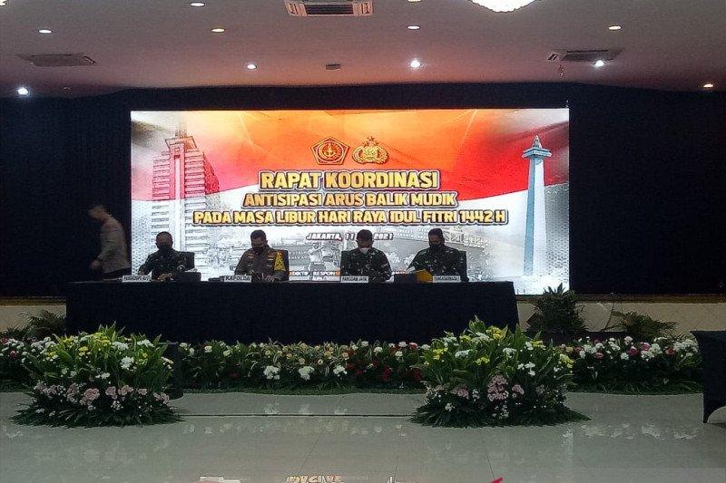 TNI-Polri gelar rakor pengamanan arus balik Lebaran 2021