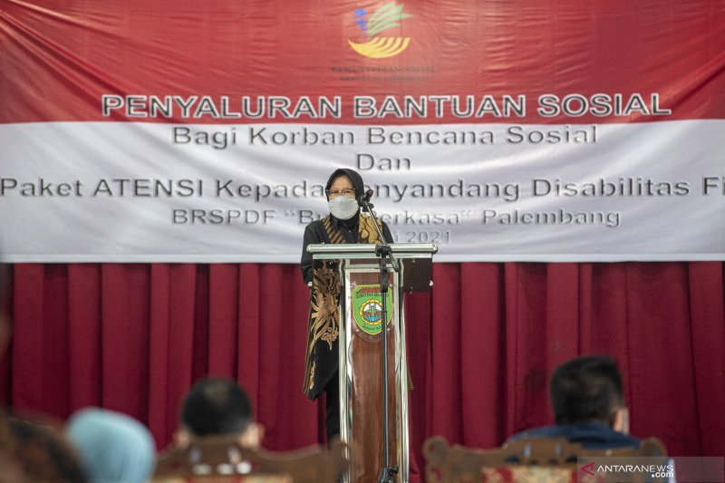 Mensos ingin balai disabillitas Palembang produksi kursi roda elektrik