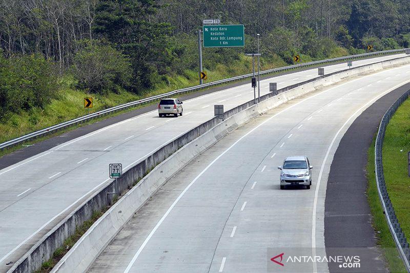 H-1 Lebaran, 431.768 kendaraan telah melintasi di Tol Trans Sumatera