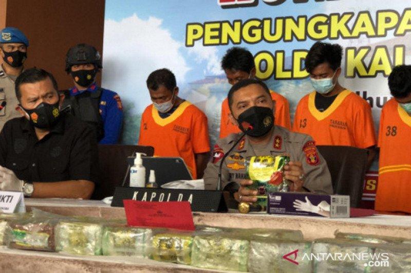 Sita 25 kg sabu merupakan pengungkapan narkoba terbanyak di Kaltim