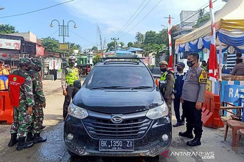 184 kendaraan bermotor ditolak masuk Aceh