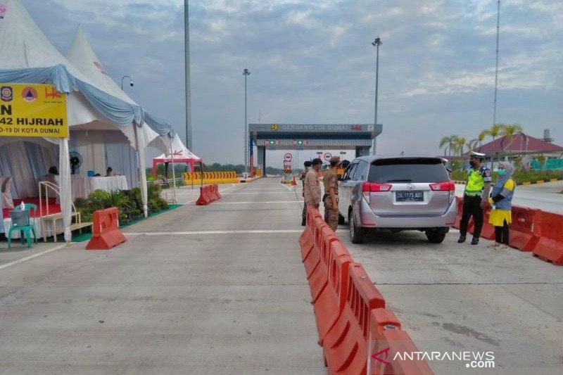 Peniadaan mudik, 519 kendaraan diputarbalikkan di Tol Trans Sumatera