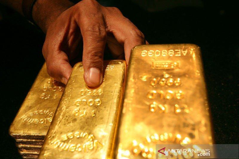Emas tergelincir 1,5 dolar dipicu kenaikan imbal hasil obligasi