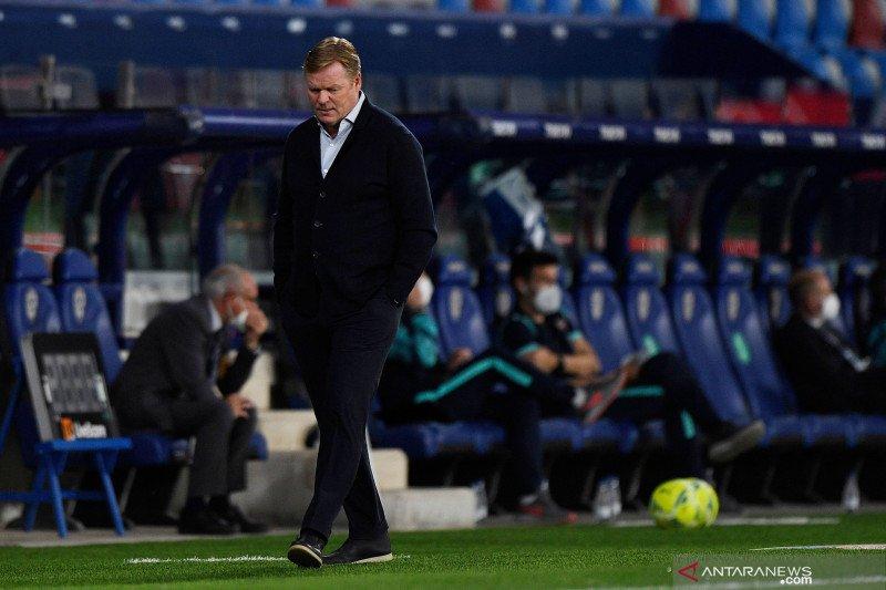 Koeman akui bakal kehilangan pekerjaan usai timnya ditahan Levante