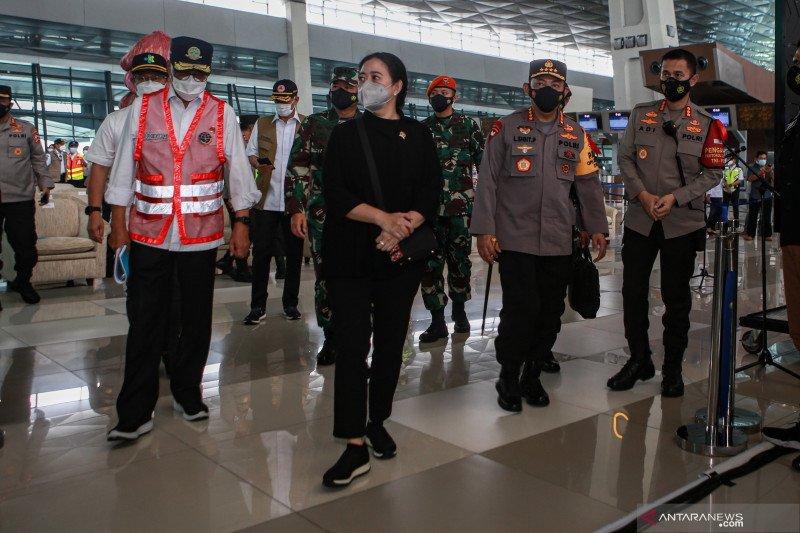 Kapolri minta prokes di Bandara Soetta diperketat