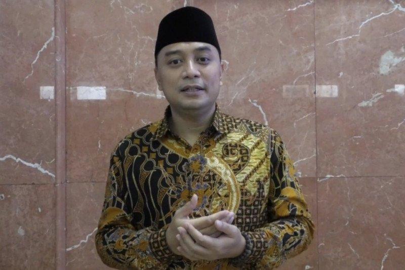 Wali Kota Surabaya ajak warga halalbihalal secara virtual