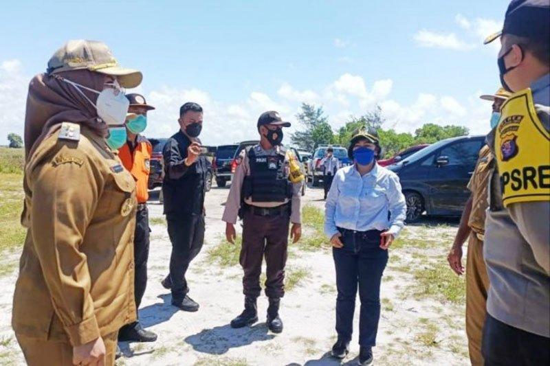 Pantai Ujung Pandaran ditutup cegah merebaknya virus B.1.617