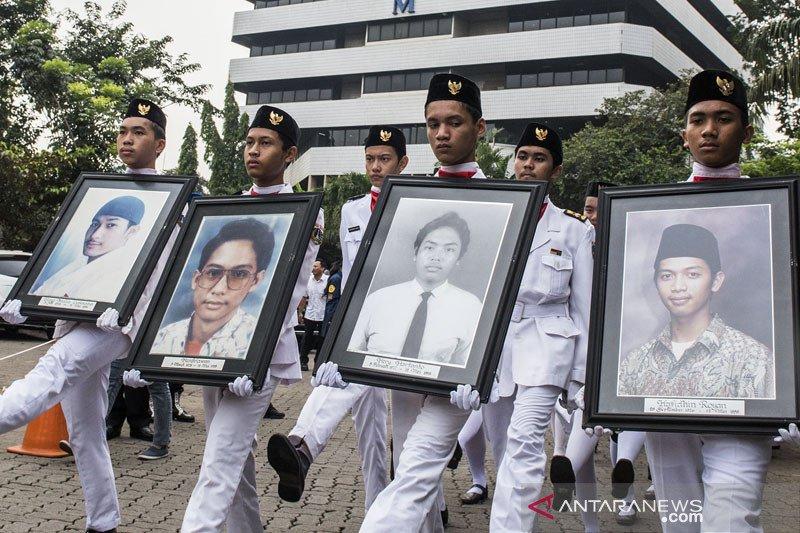 Rektor: Empat mahasiswa Trisakti yang gugur syuhada reformasi