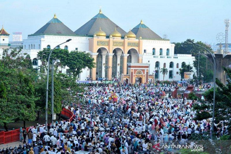 Masjid Agung Palembang batasi jamaah Shalat Id 1.000 orang