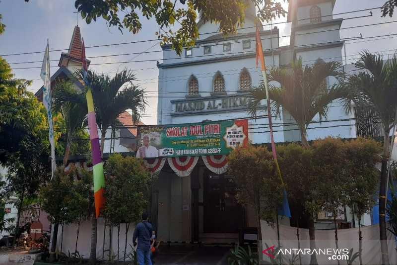 Masjid Al-Hikmah dan GKJ Joyodiningratan Solo jaga kebersamaan