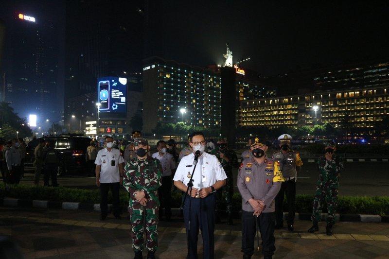 Anies: Warga Jakarta tidak mudik sebagai pejuang lawan COVID-19