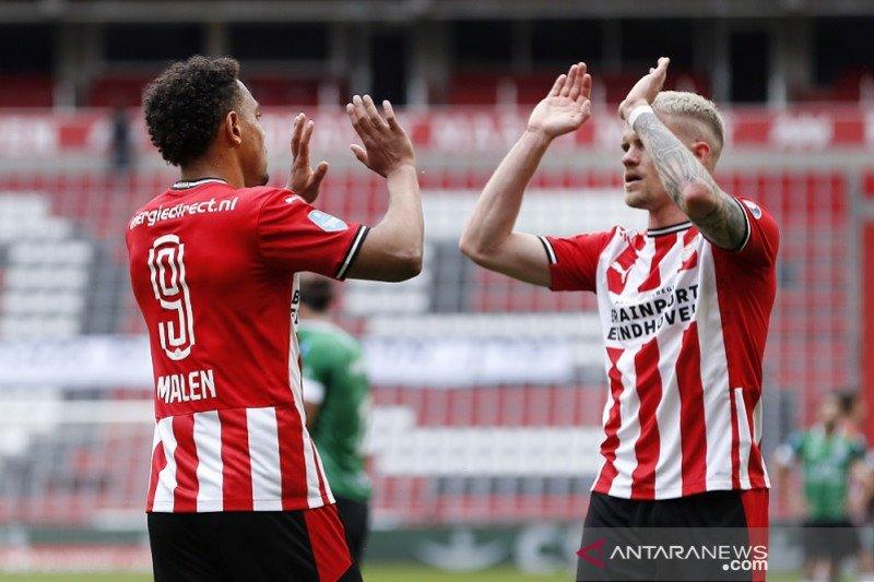 PSV kunci tiket Liga Champions lantaran AZ gagal menang