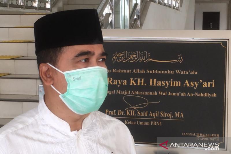 Masjid Raya KH Hasyim Asy'ari tidak terima zakat fitrah tahun 2021
