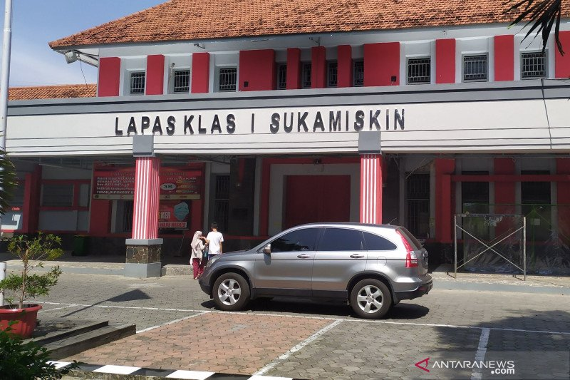 12 narapidana korupsi Lapas Sukamiskin Bandung dapat remisi Idul Fitri