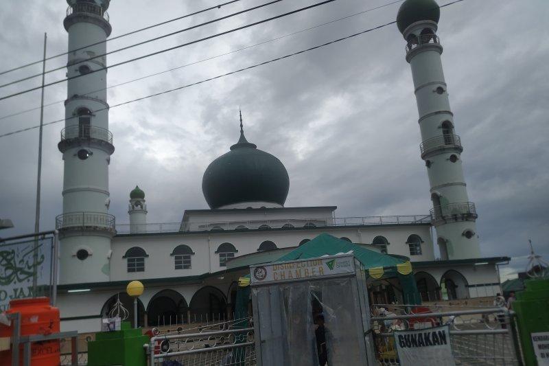 Tekan penularan, Masjid Jami' Pangkalpinang batasi durasi khotbah id