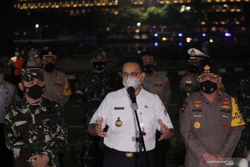 Keterangan malam Takbiran Gubernur DKI Jakarta