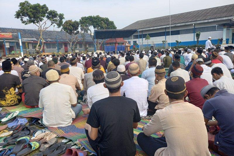 Puluhan narapidana di Sumsel terima remisi langsung bebas saat Lebaran